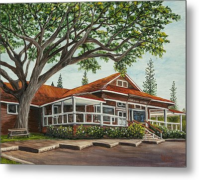 Honolua Store Metal Print by Darice Machel McGuire