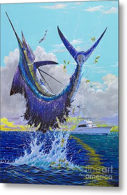 Hooked Up Off004 Metal Print by Carey Chen