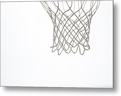 Hoops Metal Print by Karol Livote