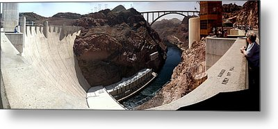 Hoover Dam 1 Metal Print by Russell Smidt