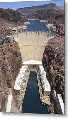 Hoover Dam Metal Print by Mike McGlothlen