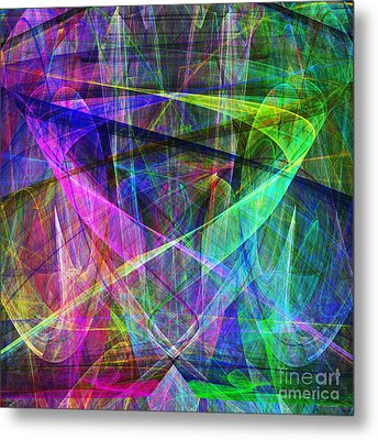 Hope 20130511 Square Metal Print by Wingsdomain Art and Photography