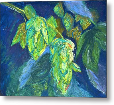 Hoppiness And Harmony Metal Print by Beverley Harper Tinsley