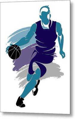 Hornets Basketball Player2 Metal Print by Joe Hamilton
