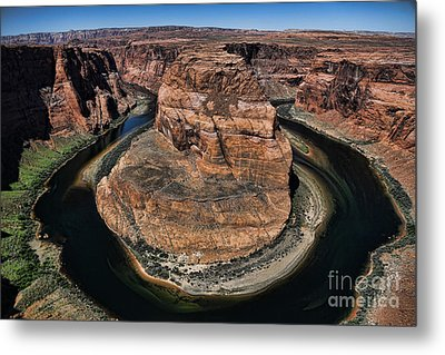Horseshoe Bend Metal Print by Chuck Kuhn