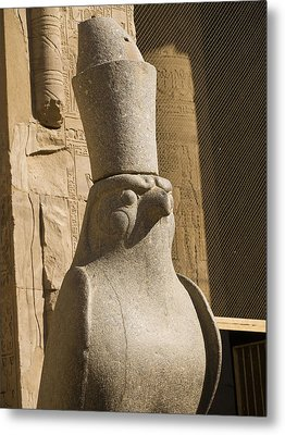 horus the Eagle Headed God Metal Print by Brenda Kean