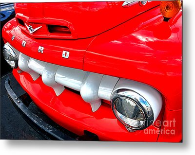 Hot Ford Metal Print by Olivier Le Queinec