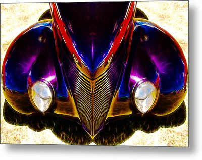 Hot Rod Eyes Metal Print by motography aka Phil Clark