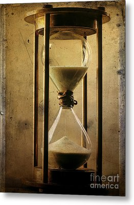 Hourglass  Metal Print by Bernard Jaubert