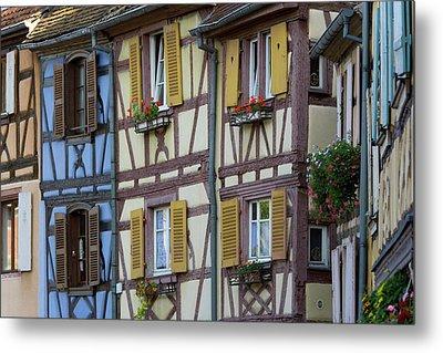 House, Colmar, Alsace, France Metal Print by Peter Adams