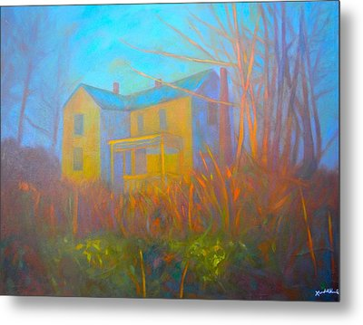 House In Blacksburg Metal Print by Kendall Kessler