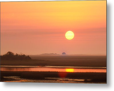 House Of The Rising Sun Metal Print by Jo Ann Tomaselli
