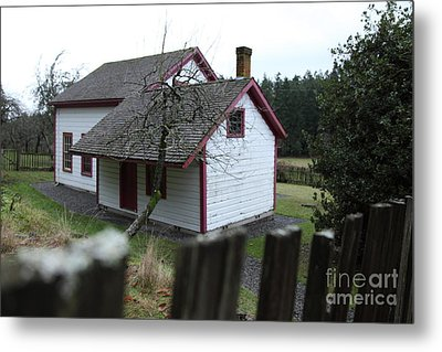House View Metal Print by Graham Foulkes