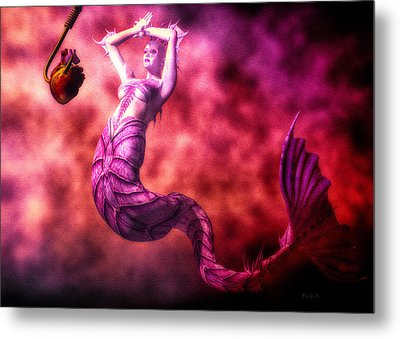 How To Catch Mermaids Metal Print by Bob Orsillo