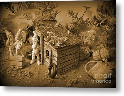 How We Getting That In The Shack  Metal Print by John Malone