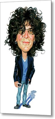Howard Stern Metal Print by Art