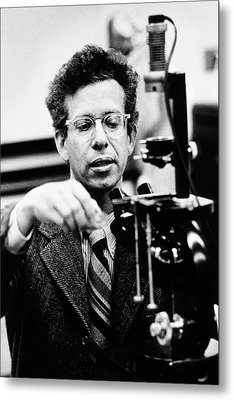 Howard Temin Metal Print by National Library Of Medicine