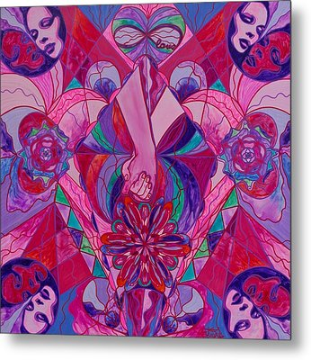 Human Intimacy Metal Print by Teal Swan