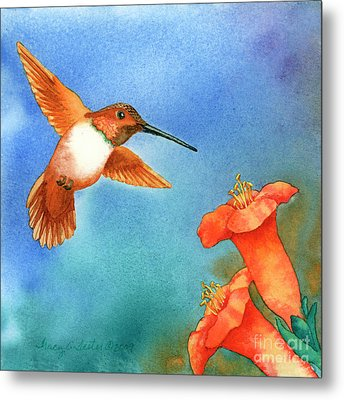 Hummer Metal Print by Tracy L Teeter