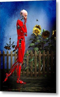 Hummingbirds Metal Print by Bob Orsillo