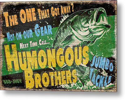Humongous Brothers Metal Print by JQ Licensing