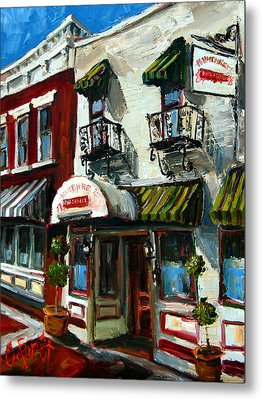 Humphreys Bar And Grill Metal Print by Carole Foret
