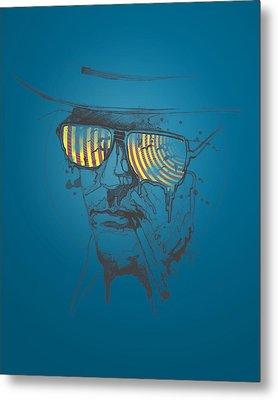 Hunter S. Thompson Metal Print by Pop Culture Prophet