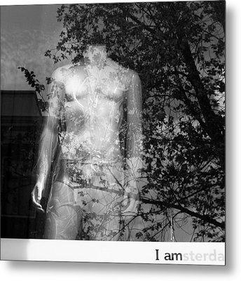 I Am Amsterdam Metal Print by Dave Bowman