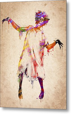I Am Going Crazy Metal Print by Aged Pixel