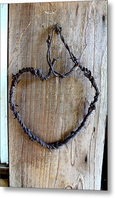 I Heart You  Texas Style Metal Print by Laurette Escobar