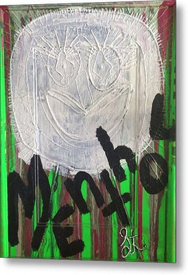 I Love Menthol Smokes Metal Print by Lisa Piper Menkin Stegeman