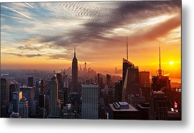 I Love New York Metal Print by Maico Presente