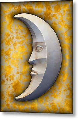 I See The Moon 1 Metal Print by Wendy J St Christopher