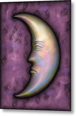 I See The Moon 2 Metal Print by Wendy J St Christopher