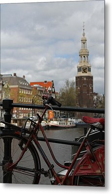 I Want To Ride My Bicycle  Metal Print by Juergen Roth