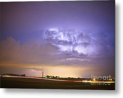 I25 Intra-cloud Lightning Strikes Metal Print by James BO  Insogna