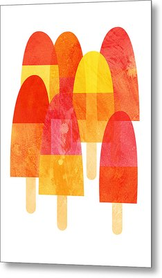Ice Lollies Metal Print by Nic Squirrell
