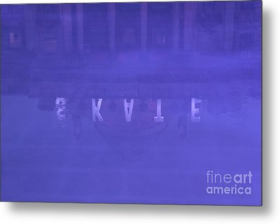 Ice Rink At Somerset House Metal Print by Jasna Buncic