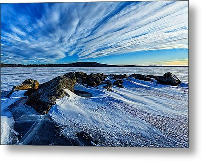 Icebound 7 Metal Print by Bill Caldwell -        ABeautifulSky Photography