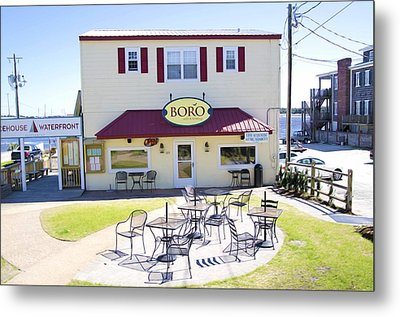 Icehouse Waterfront Restaurant 3 Metal Print by Lanjee Chee