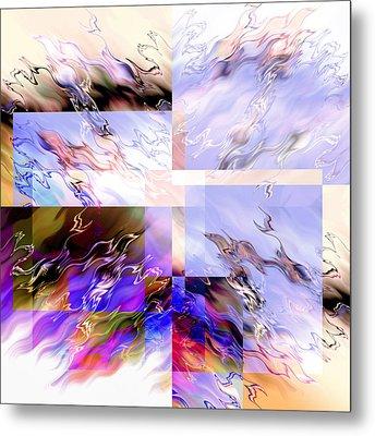 Icy Flames Metal Print by Hakon Soreide