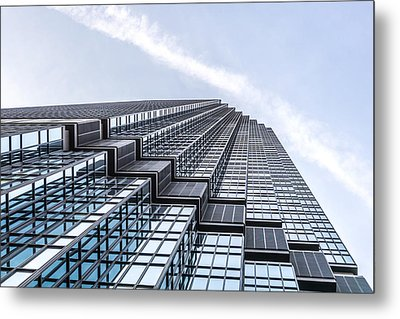 Ids Center In Minneapolis Metal Print by Jim Hughes