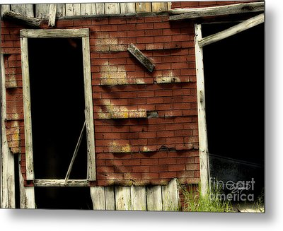 If Walls Could Talk Metal Print by Cris Hayes