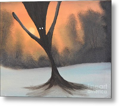 If You Go Into The Woods Today Metal Print by John Kemp