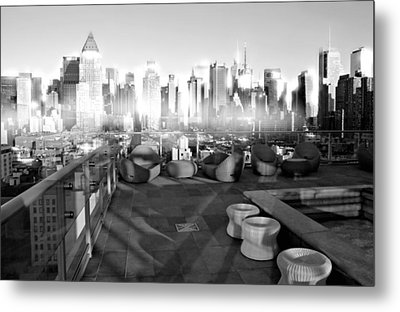 Check Please Metal Print by Diana Angstadt