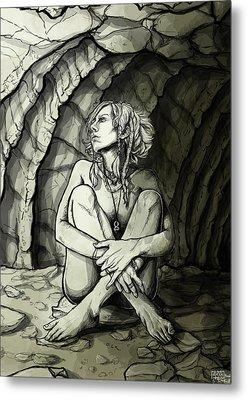 Illumination Metal Print by Alexa-Renee Smothers