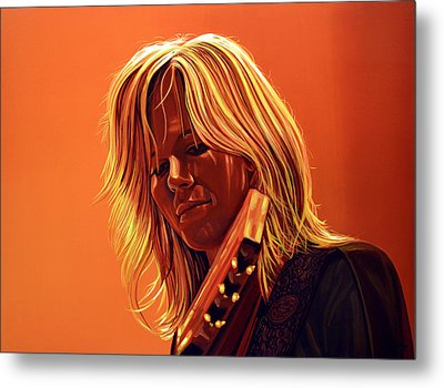 Ilse Delange Painting Metal Print by Paul Meijering