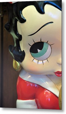 I'm Keeping My Eye On You Metal Print by Jan Amiss Photography
