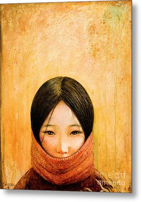 Image Of Tibet Metal Print by Shijun Munns