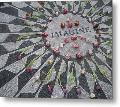 Imagine Metal Print by Kendell Timmers